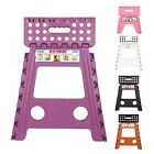 Plastic Multi Purpose Folding Step Stool Fit Home Kitchen Foldable Carry Storage