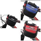 Cycling Bike Top Frame Front Pannier Saddle Tube Bag Double Pouch Holder 3W P9Y8