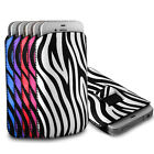 Protective Zebra Pull Tab Pouch Cover Case for Nokia Mobile Phones