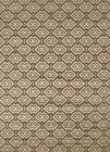 Radici Dk Beige Dots Diamond Boxes Blocks Contemporary Area Rug Geometric 6690