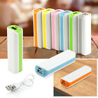 External 2600mAh Dual USB Power Bank LED Battery Charger For Iphone 6 Samsung