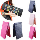 Brand Women Ladies Thin Hand-Woven Multi-Card Bit Wallet Card Package Purse Bags