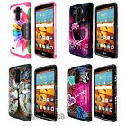 Hybrid Hard Shockproof Heavy Duty Protective Case for LG G Stylo Vista 2 LS770