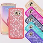 Vintage Damask Ultra Slim Thin Clear Hard Case for Samsung Galaxy S7 / S7 Edge