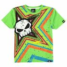 No Fear Kids Moto Graphic T Shirt Short Sleeve Round Neck Tee Top Junior Boys
