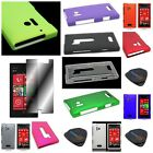 For Nokia Lumia 928 - Hard Rubberized Snap On Brightly Colored Phone Case