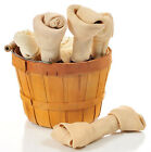 "MONSTER 100% ALL NATURAL 8-9"" RAWHIDE BONES. DOG TREATS."