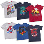 MiniKidz Boys Birthday Age Number T-Shirt