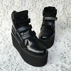 Lolita Punk Gothic Rock Cosplay Platform Ankle Boots Shoes 5195n-8 custom made