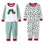 ERIC CARLE THE VERY HUNGRY CATERPILLAR BOOK PAJAMAS SIZE 2T 3T 4T 5T NEW!