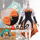 Vocaloid Hatsune Miku Halloween Cosplay Costume Dress Full 10pcs Set