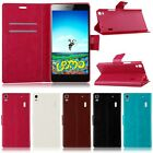 For Lenovo K3 / K3 Note A7000 Leather Card Pouch Flip Wallet Case Cover Stand