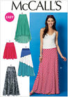 McCall's 6966 Paper Sewing Pattern to MAKE Easy Stretch Skirts - Various Lengths