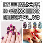 32Styles  Nail Art Image Stamp Stamping Plates Manicure Template DIY Tool New