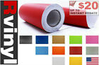 Rwraps Carbon Fiber 3D Vinyl Wrap Sheet Film Roll for Bug Deflector Bras & More