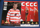 DONCASTER ROVERS HOME PROGRAMMES 2007-2008