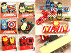 DC Comic Marvel Legend Hero Key Hat Bag Coat Wall Door Wooden Hanger Sticky Hook