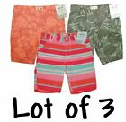 Summer Lot Shorts Adjustable Girls Clothes Playwear Bermuda Pants Kids 4 Youth