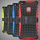 For Huawei P9 Lite Case Hard Protective Kickstand Phone Cover