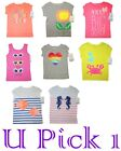 Carters Girls T Shirt Separates Top Tee Pull Over Children Kids Play Playwear