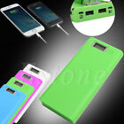 USB Power Bank Charger Case DIY Pack 8pcs 18650 Battery Holder for Mobile Phone
