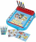 Paw Patrol Roll & Go Drawing Marshall Rubble Chase  Creative Art Case with Desk