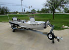 Sea Nymph 14' Fishing Boat W Trailer Evinrude 9.9hp Outboard Motor No Reserve