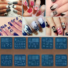 New Design DIY Nail Art Stencil Image Stamp Stamping Plates Manicure Template
