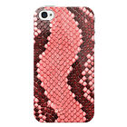 Snake Skin Case For Apple iPhone 4 Animal Print Phone Cover