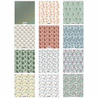 Craft Consortium Decoupage Printed Paper Pack of 3 - Floral Designs