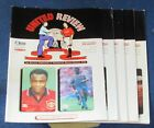 MANCHESTER UNITED HOME PROGRAMMES 1995-1996