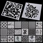 Painting Template Stencils Layering Scrapbooking Album Decorative Embossing DIY