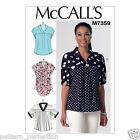 McCall's 7359 Sewing Pattern to MAKE  V-Neck Dolman Sleeve Tops w/Dolman Sleeve