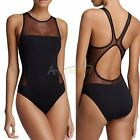 Sexy Women's One-Piece Mesh See Through Push Up Bikini Monokini Swimsuit Bathing
