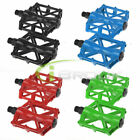 1 Pair Aluminum Mountain MTB BMX Bike Bicycle Cycling Flat Platform Pedal 9/16""