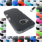 FOR HTC PHONE MODELS SHOCK PROOF TUFF RUGGED CASE COVER ACCESSORY+STYLUS