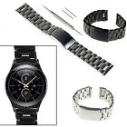 20mm Stainless Steel Metal Watch Band Replace Strap For Samsung Gear S2 SM-R732