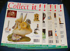 COLLECT IT! MAGAZINE VARIOUS ISSUES 1998-1999