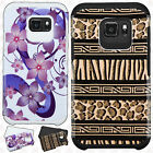 For Samsung Galaxy S7 Active HARD Hybrid Rubber Silicone Case Phone Cover