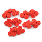 5pcs Handmade Chinese Knot Bottons Fasteners for DIY Cheongsam Clothes Tang Suit