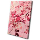Canvas Art Picture Print Decorative Photo Flowers Pastel Vintage Floral Pink