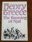 Henry Treece 'The Burning of Njal' 1972 with illust by Bernard Blatch (RM018)