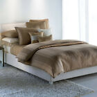 Vera Wang MODERN STRIPE Comforter Set - 4 pc Contemporary Gold Taupe *NEW*