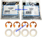 MerCruiser Alpha 1 Gen 2 Trim Pin Clip/Washer Set, 53-815949 + 12-815952 (4 ea)