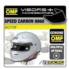 SC772F OMP SPEED CARBON 8860 HELMET OPTIONAL EXTRA VISORS & ACCESSORIES BY OMP