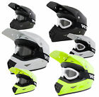 KIDS FULL FACE CYCLE HELMET AND GOGGLES CHILDS BMX DOWNHILL MTB CRASH HELMET ACU