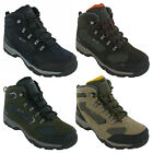 Hi-Tec Hiking Waterproof Boots Storm Leather Mesh Lace Up Walking Trail Mens