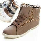 NEW Studs Sneakers Casual Shoes Ladies' shoes Trainers Sport Shoes High shaft