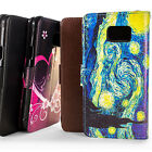 For Samsung Galaxy S7 Active Premium Wallet Synthetic Leather Phone Cover