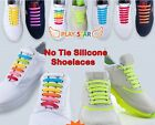18pcs No Tie Elastic Silicone Shoelaces Sneakers Fashionable Sneakers strap